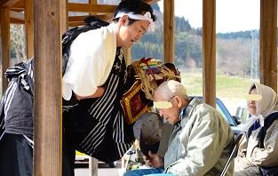 春祈祷神楽祭 南郷区島守_c0299631_144570.jpg