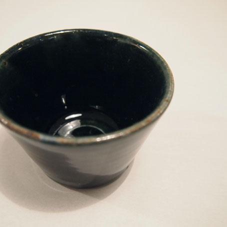 山田隆太郎さん、瑠璃6寸皿とそばちょこ_b0322280_19122083.jpg