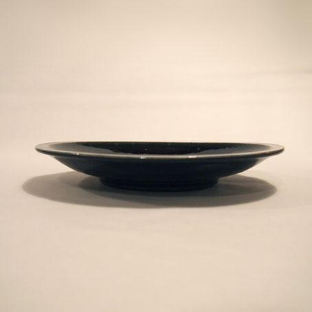 山田隆太郎さん、瑠璃6寸皿とそばちょこ_b0322280_1935878.jpg