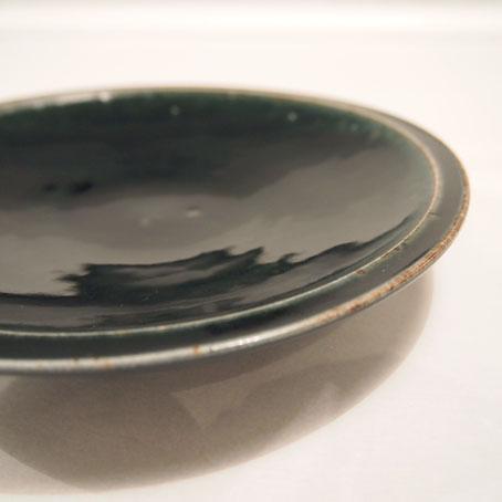 山田隆太郎さん、瑠璃6寸皿とそばちょこ_b0322280_194242.jpg