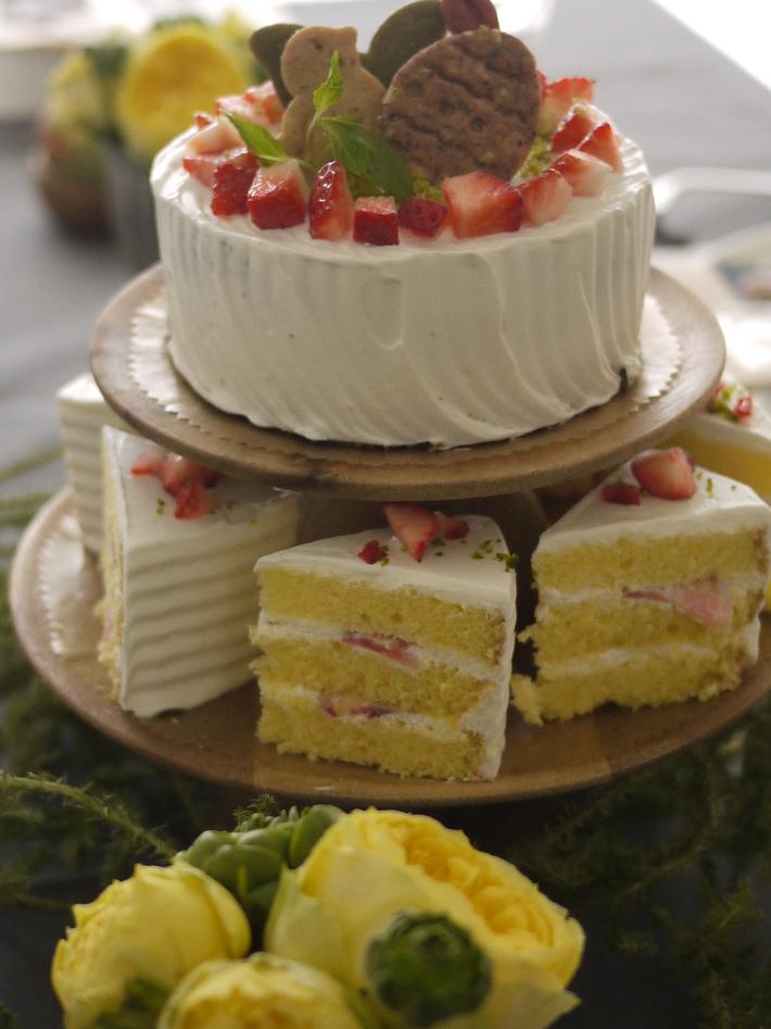 パルケ先生3月cake class『苺のショートケーキ2015』_e0159185_18313199.jpg