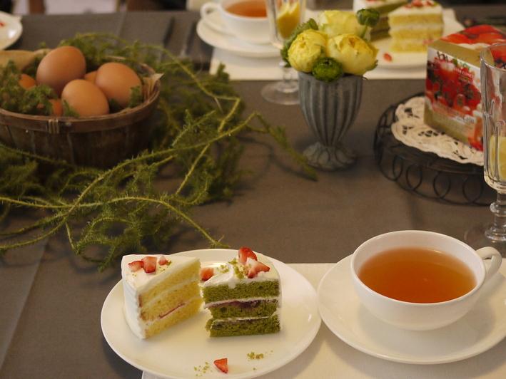パルケ先生3月cake class『苺のショートケーキ2015』_e0159185_1834885.jpg