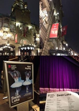 English National BalletのSwan Lakeを観る♪_f0238789_2054152.jpg