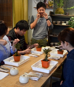 盆栽教室「春楽桜花」展 ありがとうございました_d0263815_14562163.jpg