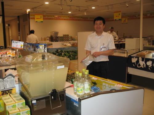 阪急百貨店初日_e0101917_06353497.jpg