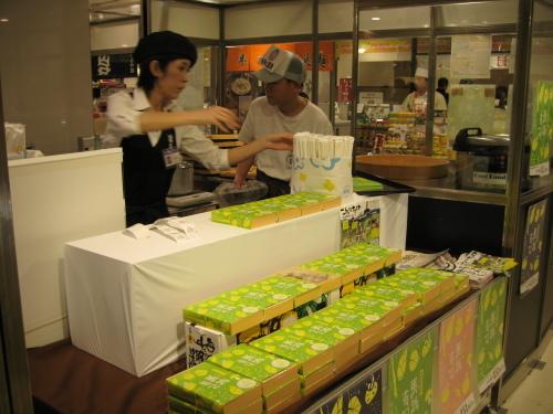 阪急百貨店初日_e0101917_06480270.jpg