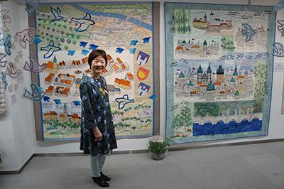 沢田淳子パッチワークキルト展が開催中です。_f0171840_10044727.jpg