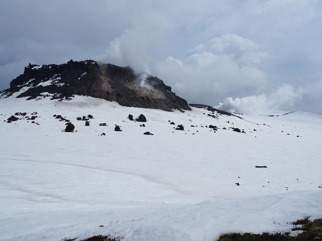 樽前山、4月1日_f0138096_12255886.jpg