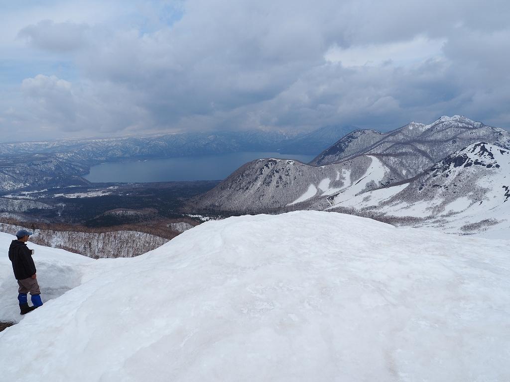 樽前山、4月1日_f0138096_12262973.jpg