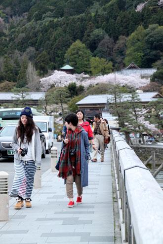 嵐山満開 2015さくら情報 20_e0048413_16355148.jpg