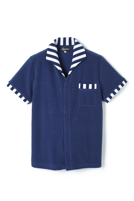【Attractions】 ITALIAN COLLAR PILE SHIRT_c0289919_18341832.jpg