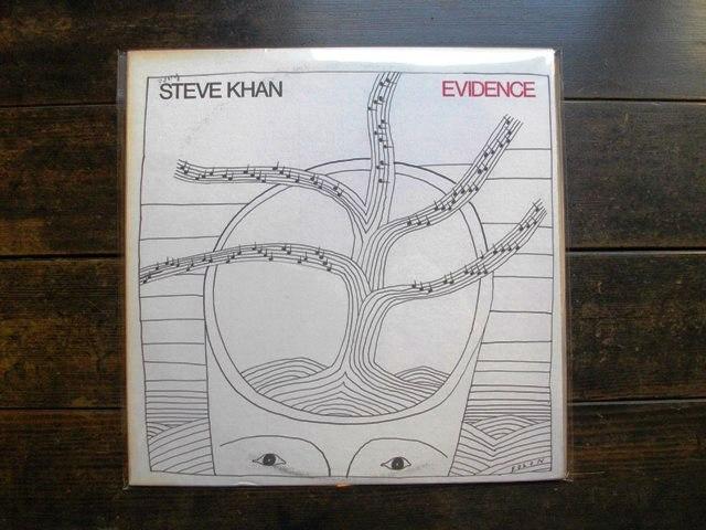 FOLONのジャケット Steve Khan / Evidence_e0230141_1855595.jpg