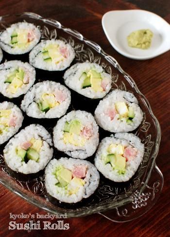 巻き寿司と冷凍生わさび_b0253205_01574544.jpg
