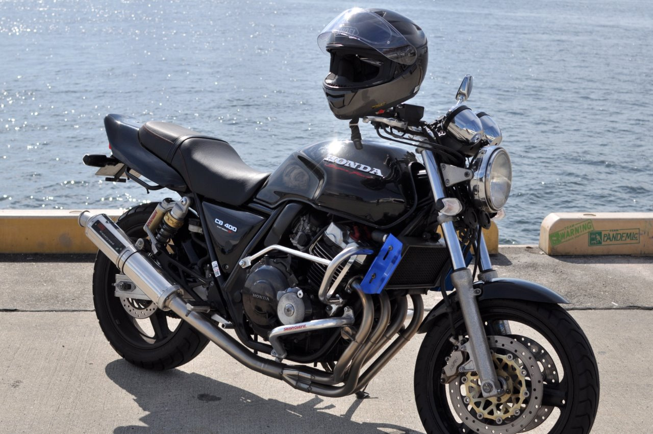 CB400SFにバイクザシート感想頂きました。_e0114857_2028516.jpg