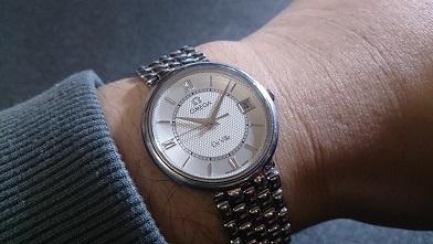 腕時計を買いました 『オメガ』デ・ヴィル_c0364960_19195661.jpg