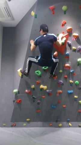息子たちと、壁登りに行ってきました~!(^o^)/_d0191262_17393742.jpg
