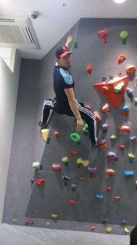 息子たちと、壁登りに行ってきました~!(^o^)/_d0191262_17395132.jpg