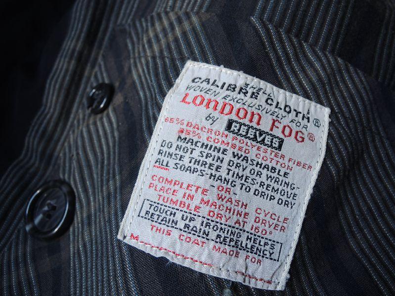 70S LONDON FOG SOUTIEN COLLAR COAT--RECOMMEND--_c0176867_1453454.jpg