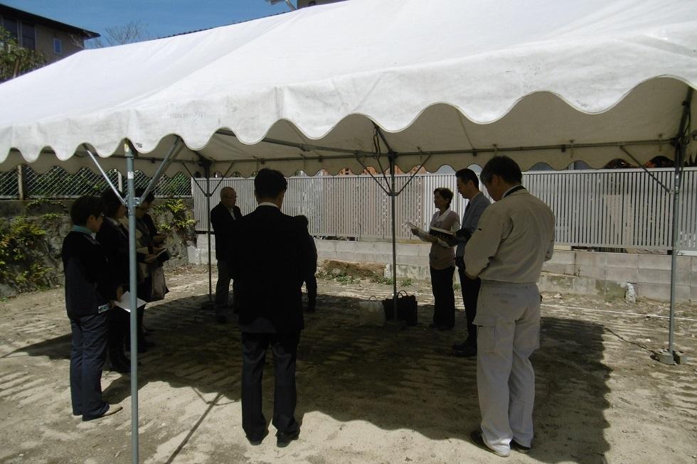 キリスト教式 地鎮祭 「聖地式」_f0205367_16463830.jpg