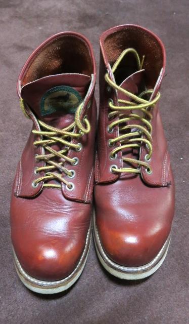アメリカ仕入れ情報#2 90年代RED WING ブーツ 半円タグ !_c0144020_1057246.jpg