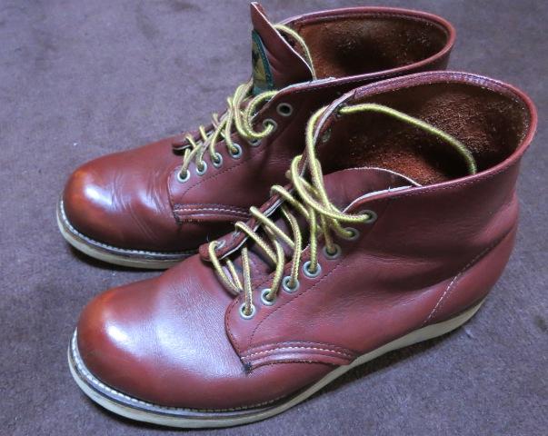 アメリカ仕入れ情報#2 90年代RED WING ブーツ 半円タグ !_c0144020_105763.jpg