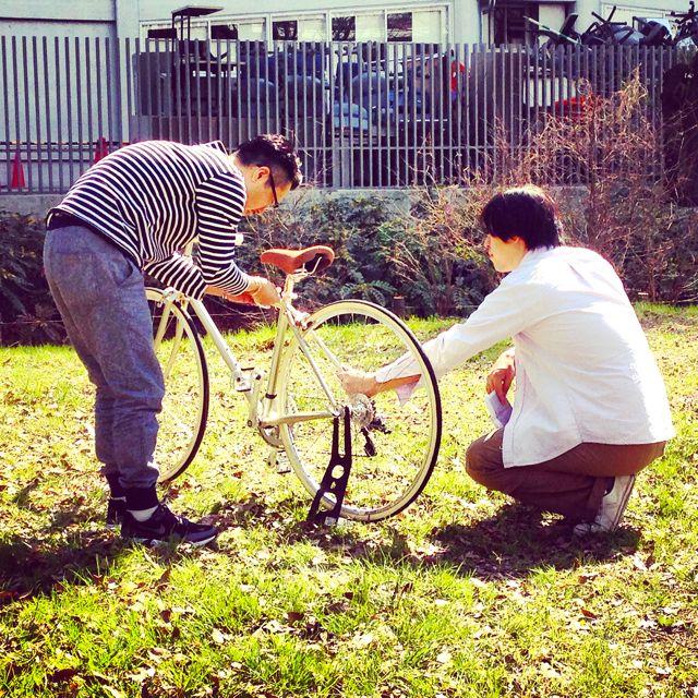 リピトTVテレビ撮影『NHK BS1 美スポ』おしゃれ 自転車 女子 女性 テレビ_b0212032_19364687.jpg