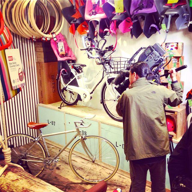 リピトTVテレビ撮影『NHK BS1 美スポ』おしゃれ 自転車 女子 女性 テレビ_b0212032_1937134.jpg