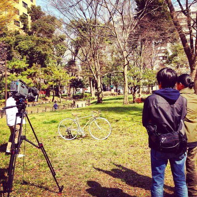 リピトTVテレビ撮影『NHK BS1 美スポ』おしゃれ 自転車 女子 女性 テレビ_b0212032_1937223.jpg