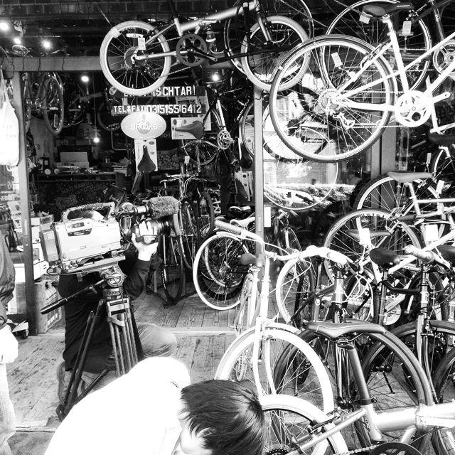 リピトTVテレビ撮影『NHK BS1 美スポ』おしゃれ 自転車 女子 女性 テレビ_b0212032_19525717.jpg