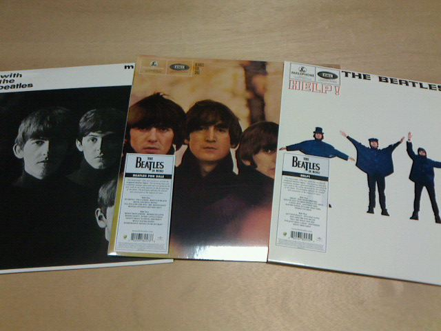 昨日到着レコ 〜 The Beatles In Mono / その5_c0104445_22135350.jpg