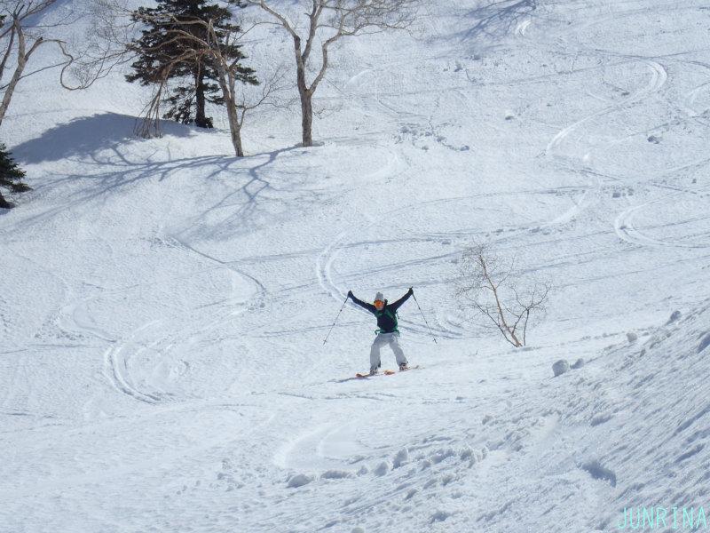 雪の歓声_d0110562_19260404.jpg