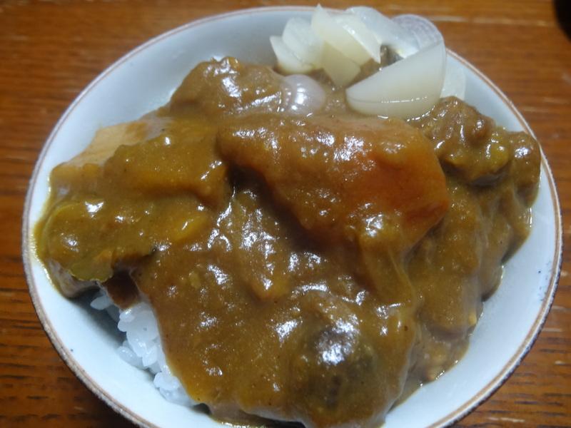 鶏モモ肉のソテー、ひじき煮、カレー、煮豆、焼売、白菜の煮物です。_c0225997_1837403.jpg