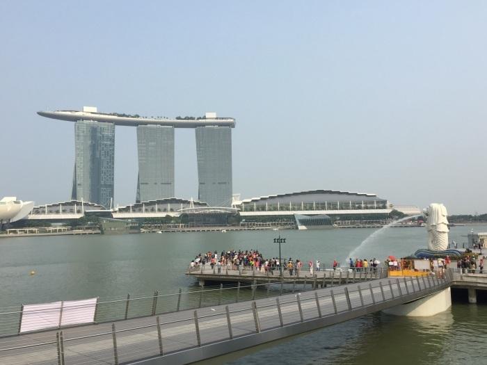 2015 3月 シンガポール (9) Jubilee Bridge --- Mr.Lee へのトリビュート_f0062122_00412605.jpg