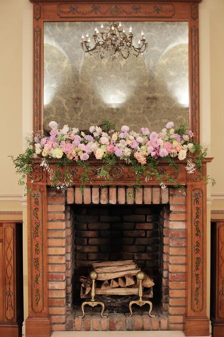 春の装花 リストランテASO様へ 淡い紫で  リトルシルバー、そら_a0042928_13363768.jpg