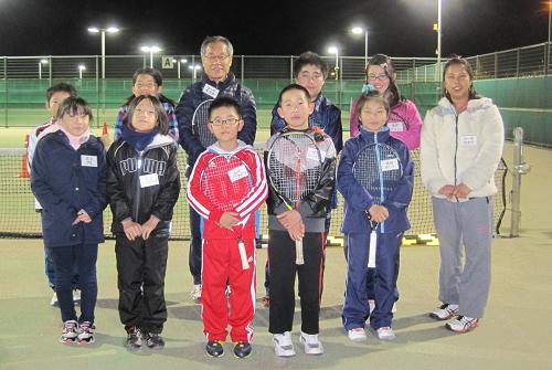 テニス教室が始まりました_a0151444_1011654.jpg