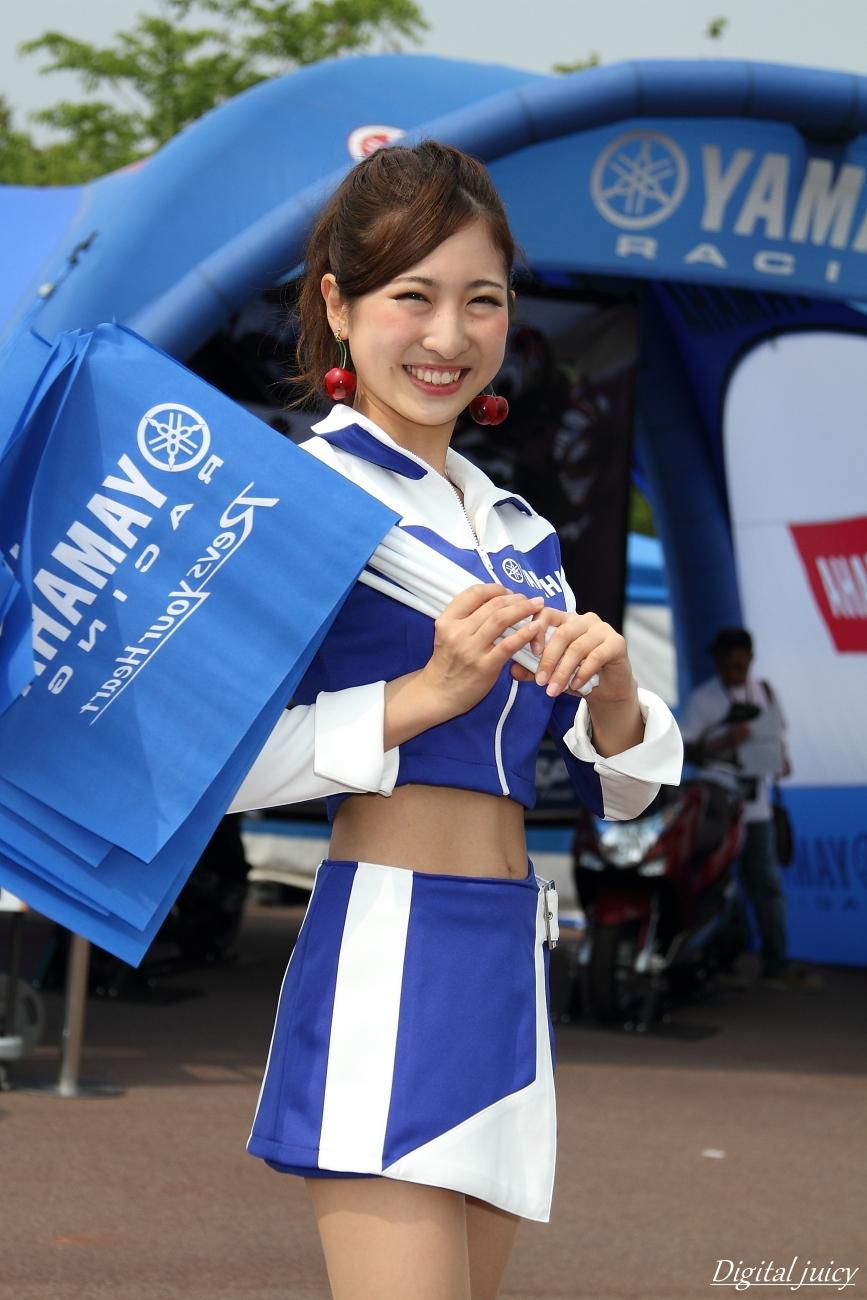 大島遥 さん(YAMAHA RACING LADY)_c0216181_0565274.jpg