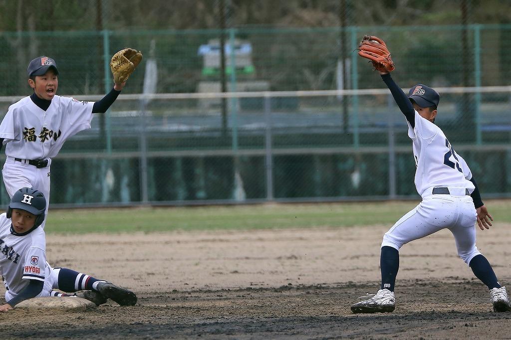 平成27年4月4日第32回阪神あわじ大会 vs氷上ボーイズ3_a0170082_21432125.jpg