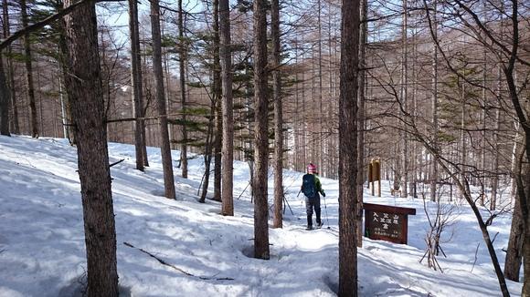 初めてのスノーシューは入笠山~♪_b0093515_22411980.jpg
