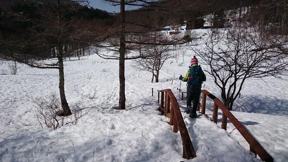初めてのスノーシューは入笠山~♪_b0093515_2242173.jpg