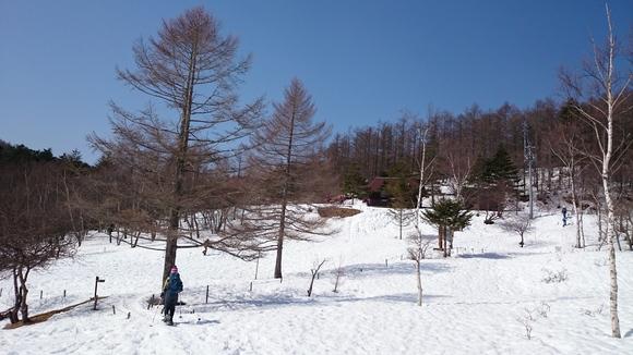 初めてのスノーシューは入笠山~♪_b0093515_22432947.jpg