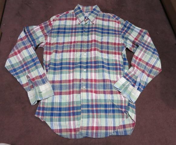 アメリカ仕入れ情報#4 60's マクレガーマドラスチェック B.D シャツ!_c0144020_10483670.jpg