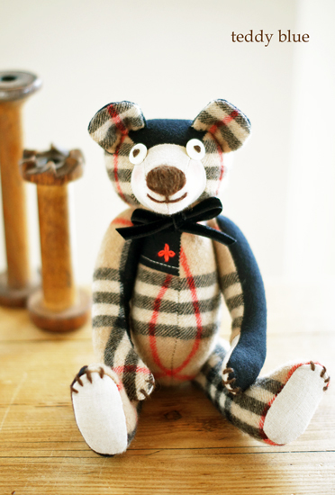 teddy with burberry  テディ バーバリー_e0253364_15283117.jpg