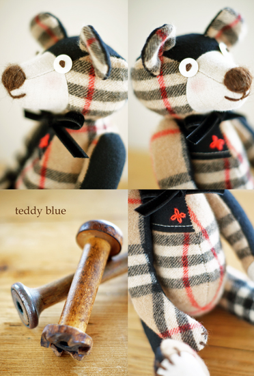 teddy with burberry  テディ バーバリー_e0253364_15283796.jpg
