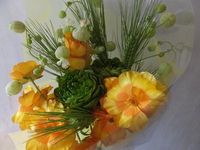 オークリーフ(ラナンキュラスの花束Ⅱ)_f0049672_12512564.jpg