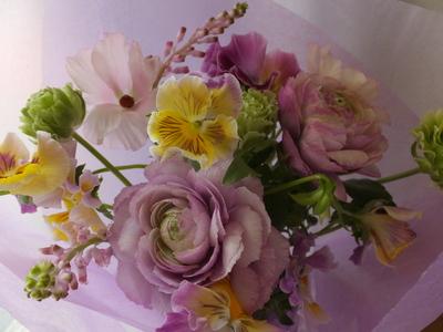 オークリーフ(ラナンキュラスの花束Ⅱ)_f0049672_12515680.jpg