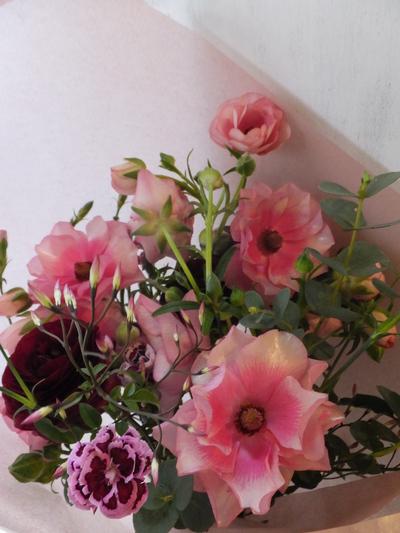 オークリーフ(ラナンキュラスの花束Ⅱ)_f0049672_131951.jpg