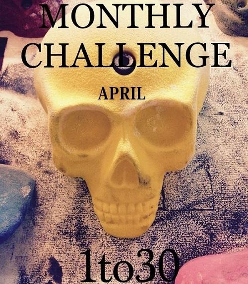 MONTHLY CHALLENGE 更新_d0246875_19494975.jpg