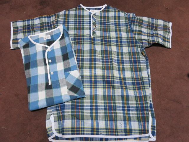 アメリカ仕入れ情報#9 60~70\'S デッドストック マドラスヘンリーネックTシャツ_c0144020_955062.jpg