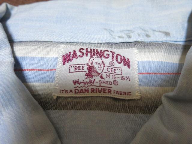 アメリカ仕入れ情報#10 50'S Washington Dee Cee  シャツ!_c0144020_958599.jpg