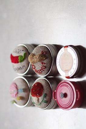 メタルビーズ芦屋教室Kさんの刺繍作品_b0048834_1432417.jpg
